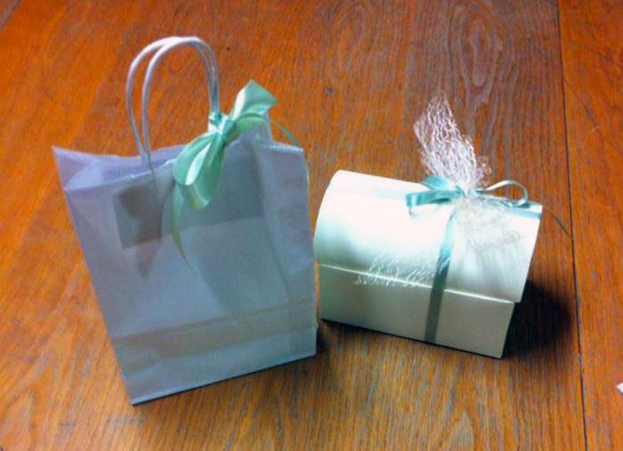 Wedding bags: sacchetti da matrimonio