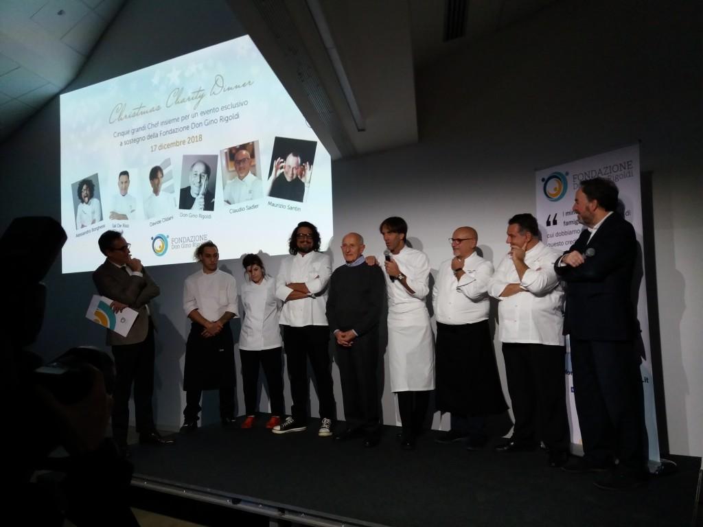 Gli chef e don Gino