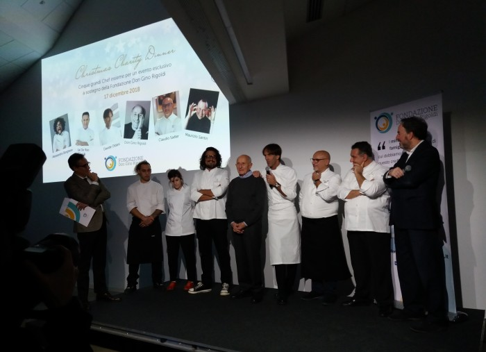 Grandi chef per la Christmas Charity Dinner