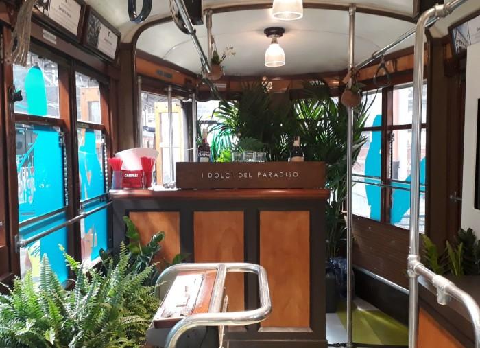 L'aperitivo sul tram