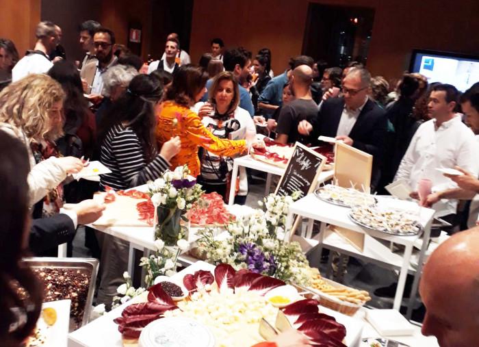 Il buffet dell'aperitivo
