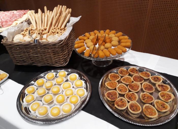 Polentine, miniquiche e frittini