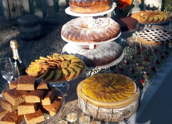 Il buffet di torte