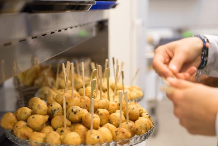 Preparazione frittini