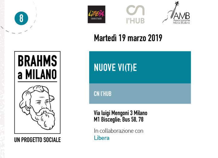 Brahms a Milano passa da CN l'HUB